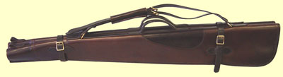 Double Shotgun case leather